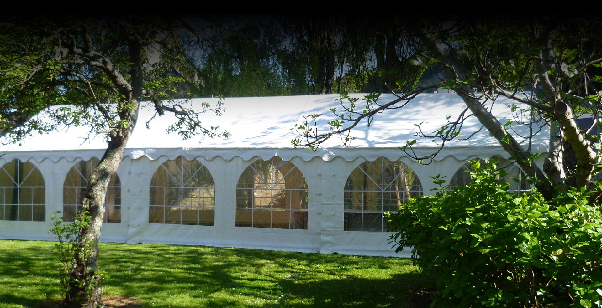 Location de tentes pour vos événements