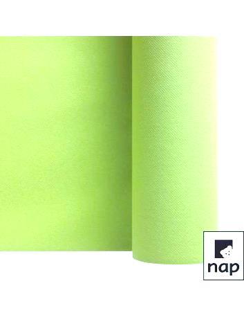 chemin de table Célisoft vert amande